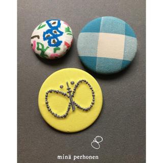 mina perhonen - ミナペルホネン  ボタン・限定バッジ