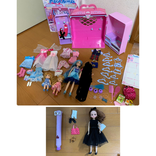 Takara Tomy - リカちゃん ドレスルーム 服 人形 セット ベリーコラボ