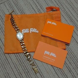 フォリフォリ(Folli Follie)の腕時計 レディース Folli Follie ゴールド かわいい(腕時計)