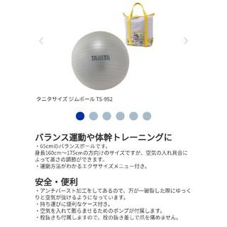 タニタ(TANITA)のタニタ バランスボール ジムボール(トレーニング用品)