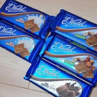 chocolate - Wedel (ウェデル)★ポーランド高級チョコレート 5枚セット