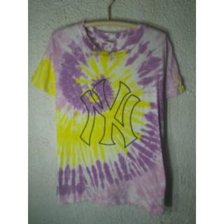 エルビーゼロスリー(LB-03)の6480 LB-03 ニューヨーク ヤンキース タイダイ tシャツ(Tシャツ/カットソー(半袖/袖なし))
