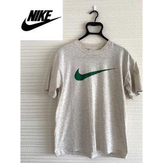 ナイキ(NIKE)の【激レア】NIKE ナイキ 90s Tシャツ ビッグロゴ スウッシュ 銀タグ(Tシャツ/カットソー(半袖/袖なし))