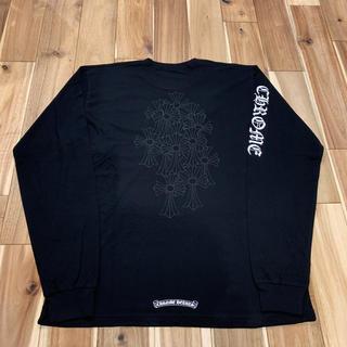 クロムハーツ(Chrome Hearts)の新品 レア クロムハーツ バッククロス ロングスリーブ Tシャツ サイズXL(Tシャツ/カットソー(七分/長袖))