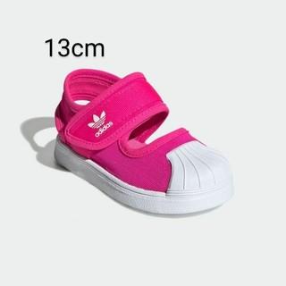 adidas - 新品 13cm アディダス スーパースター サンダル