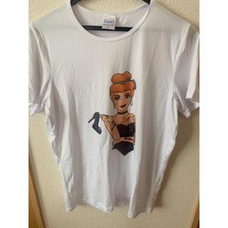 Tシャツ ディズニー プリンセス シンデレラ ダークプリンセス ダーク 入れ墨(Tシャツ(半袖/袖なし))