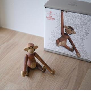 カイボイスン(Kay Bojesen)のカイ ボイスン KAY BOJESEN モンキーミニ 猿 木製玩具 デンマーク(置物)