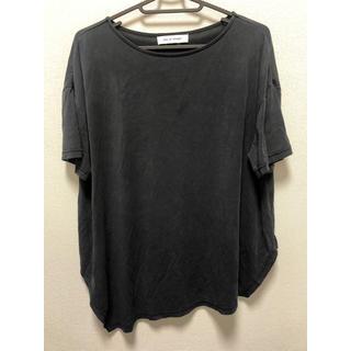 アズールバイマウジー(AZUL by moussy)の変形トップス(Tシャツ(半袖/袖なし))