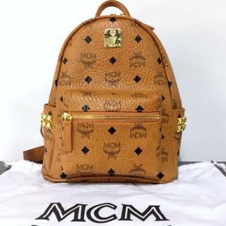 MCM - エムシーエム MCM ビセトス VISETOS ブラウン コニャックバックパック