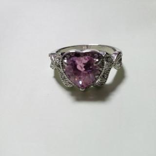 ピンク ハートのリング(リング(指輪))