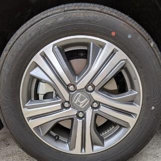 ホンダ(ホンダ)のステップワゴンハイブリッド純正ホイール タイヤ 4本(タイヤ・ホイールセット)