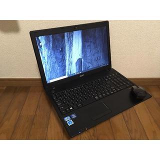 エイサー(Acer)のAcer/TravelMate/Intel/4G/240G/15.6Inc(ノートPC)