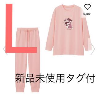 GU - 新品未使用 ラウンジセット(長袖)DORAEMON1 ジーユー GU ピンク