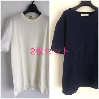 エディフィス(EDIFICE)のエディフィス Tシャツ2枚セット(Tシャツ/カットソー(半袖/袖なし))