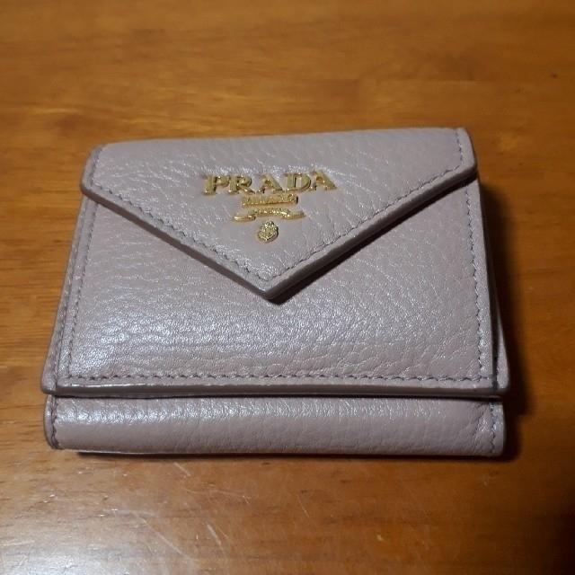 PRADA(プラダ)のPRADA コンパクト財布 レディースのファッション小物(財布)の商品写真