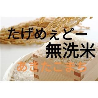 【送料無料】極上米 令和元年 秋収穫 秋田県大仙産 あきたこまち 無洗米 (米/穀物)