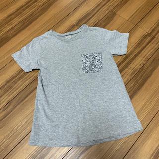 イッカ(ikka)のikka イッカ 半袖 Tシャツ グレー 140(Tシャツ/カットソー)