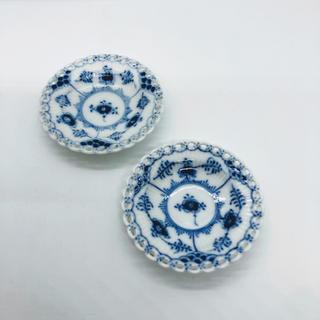 ロイヤルコペンハーゲン(ROYAL COPENHAGEN)のロイヤルコペンハーゲン 豆皿 小皿 バターディッシュ フルレース 1級品(食器)