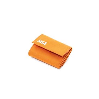 "WDS × WEEKEND(ER) Travel wallet""ORANGE""(折り財布)"