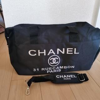 CHANEL - CHANEL シャネル ノベルティ バック 2wayショルダー付きボストンバック