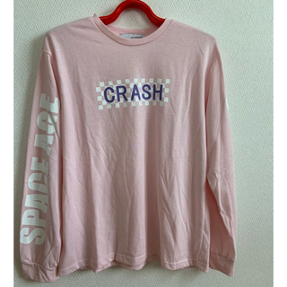 WEGO - 長袖 Tシャツ ピンク系 ロンT トップス 美品 WEGO フリーサイズ