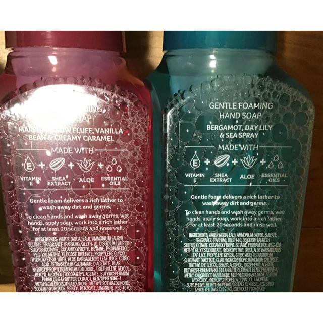 Bath & Body Works(バスアンドボディーワークス)のbath&body works HAND SOAP 5点 バス&ボディワークス コスメ/美容のボディケア(ボディソープ/石鹸)の商品写真