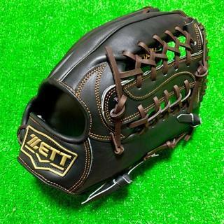 ゼット(ZETT)の新品 高校野球対応 ZETT プロモデル 硬式用 外野手用 グローブ 台湾製 ②(グローブ)