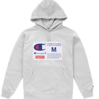 Supreme - Supreme Champion Label Hooded Sweatshirt