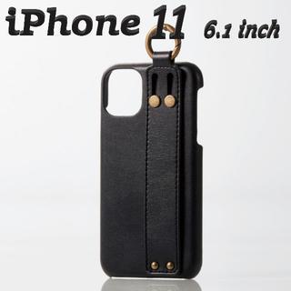 ELECOM - iPhone 11ケース ソフトレザー オープン イタリアン