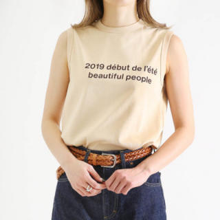 beautiful people - 新品未使用 beautiful people ノースリーブ