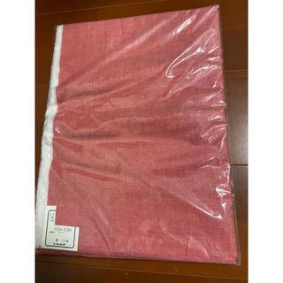 ファミリア(familiar)のファミリア 布 生地 赤色 綿100%  新品未使用 ハンドメイドに(生地/糸)