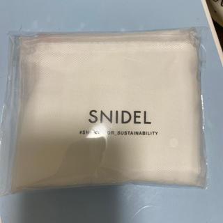 スナイデル(snidel)のsnidel エコバッグ(エコバッグ)