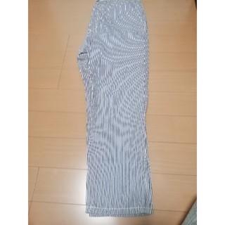 ジーユー(GU)のメンズ GU 綿パン ストライプLサイズ UNIQLO(ワークパンツ/カーゴパンツ)