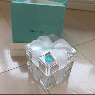Tiffany & Co. - ティファニー リボン型クリスタルボックス