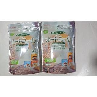日本食品 オーガニック ピュア オートミール260g ×2袋(米/穀物)