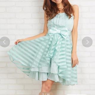 エルディープライム(LD prime)の限定値下げ❗️ パーティードレス 2wayドレス 結婚式 水色(ミディアムドレス)