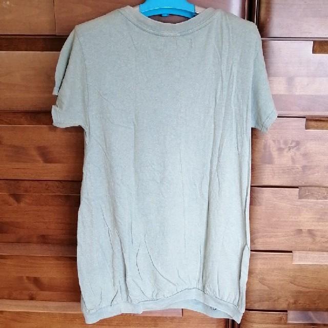 CUBE SUGAR(キューブシュガー)のキューブシュガー ラフ Tシャツ レディースのトップス(Tシャツ(半袖/袖なし))の商品写真