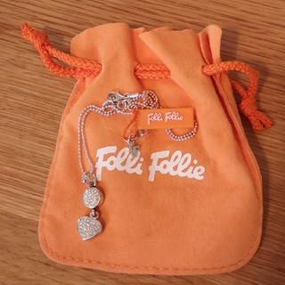 フォリフォリ(Folli Follie)の新品未使用 フォリフォリ シルバーネックレス(ネックレス)