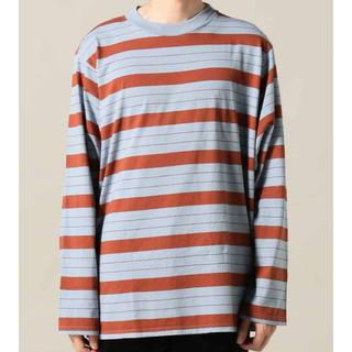 アンユーズド(UNUSED)のUNUSED long sleeve border t-shirt(Tシャツ/カットソー(七分/長袖))