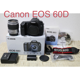 Canon - Canon EOS 60Dボディ+オマケでレンズ付き