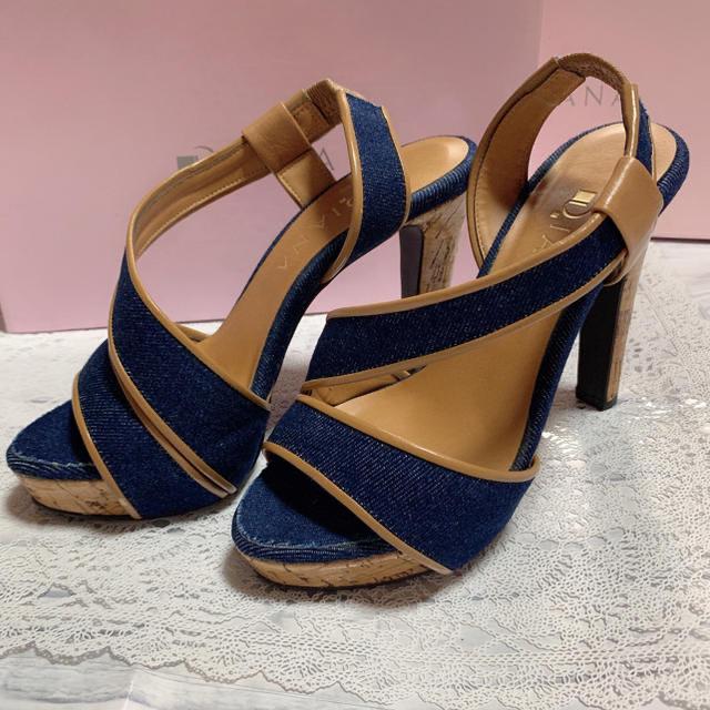 DIANA(ダイアナ)のDIANA*デニムサンダル レディースの靴/シューズ(サンダル)の商品写真