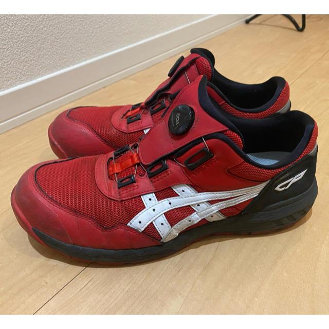 asics(アシックス)のアシックス 安全靴 CP209 boa レッド メンズの靴/シューズ(その他)の商品写真