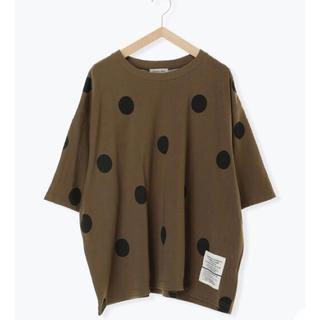 SM2 - 新品タグ付き サマンサモスモス  ビッグTシャツ ブラウン