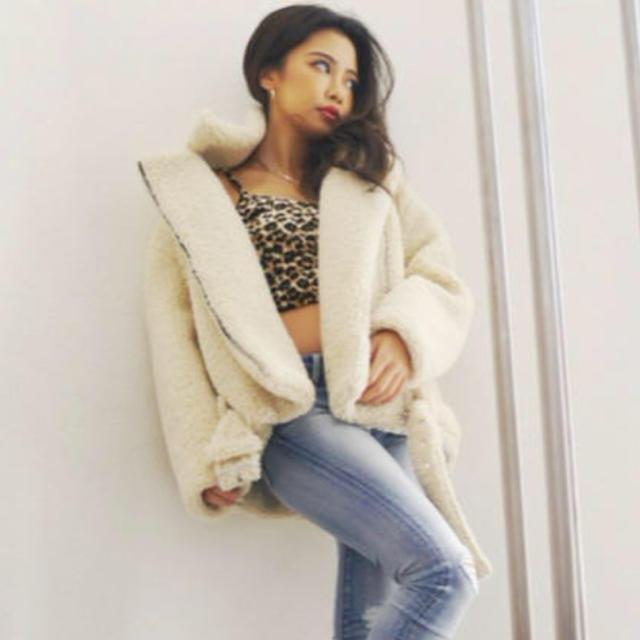 GYDA(ジェイダ)のオーバーサイズボアジャケット  レディースのジャケット/アウター(ブルゾン)の商品写真