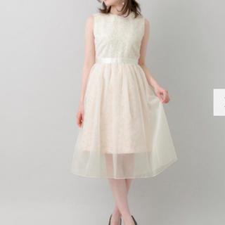 URBAN RESEARCH - 【UR】couture maison シャギートップワンピース 38サイズ