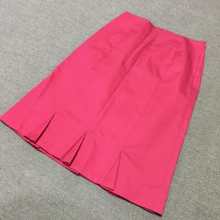 エムケーミッシェルクラン(MK MICHEL KLEIN)のMK MICHEL KLEIN ミッシェルクラン ピンクスカート(ひざ丈スカート)