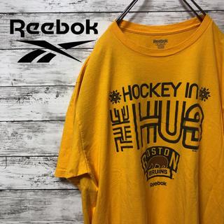 リーボック(Reebok)の【Reebok】リーボック 半袖Tシャツ HUB ホッケー(Tシャツ/カットソー(半袖/袖なし))