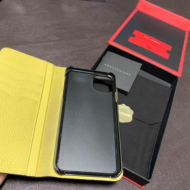 iPhone(アイフォーン)のBONAVENTURA ボナベンチュラ iPhone11 pro max スマホ/家電/カメラのスマホアクセサリー(iPhoneケース)の商品写真