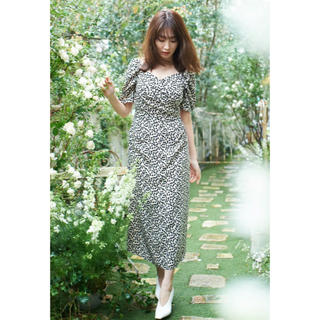 snidel - Her lip to Cherry Pattern One-Piece 新品