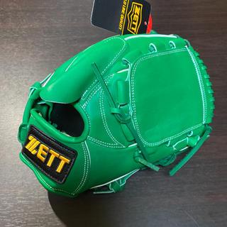 ZETT - グローブ 硬式用 ピッチャー 投手 ゼット ZETT 新品未使用 野球 グリーン